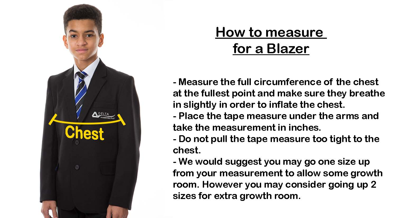 blazer Sizes